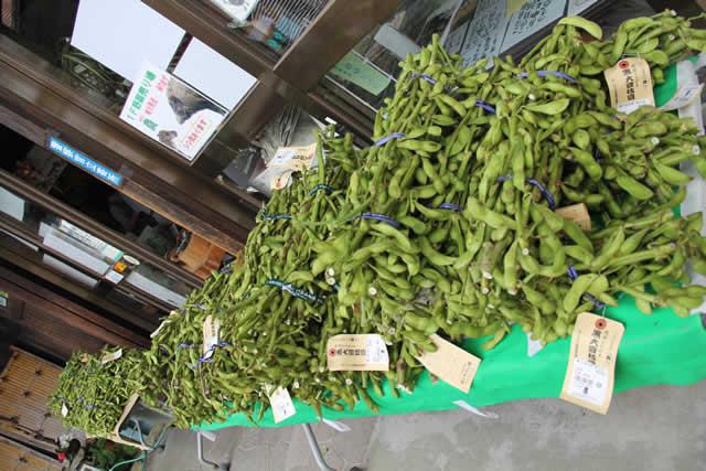 写真:丹波の黒豆