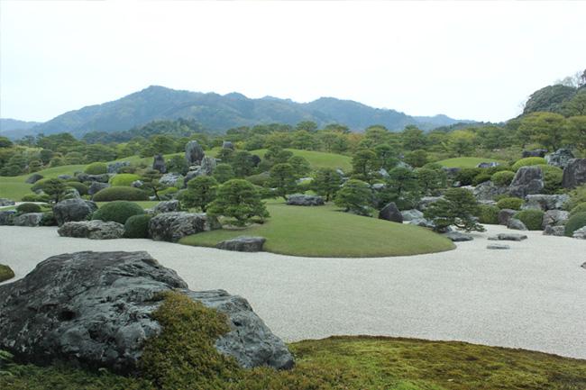 写真:庭園の風景