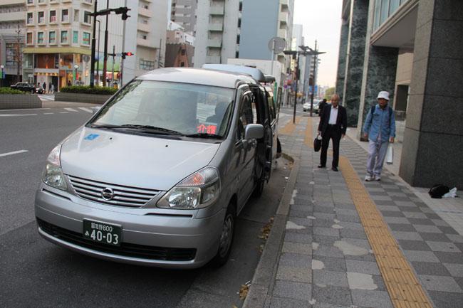 写真:希望されたセレナの介護タクシー