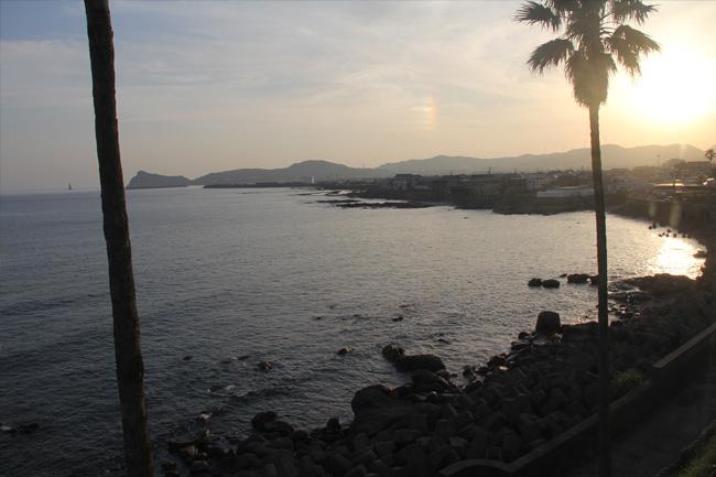 写真:枕崎の海岸