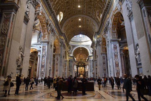 写真:サン・ピエトロ大聖堂