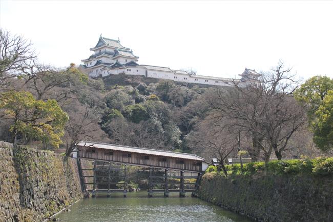 写真:和歌山城遠景