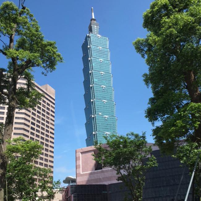 写真:台湾101外観