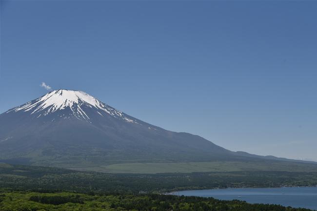 写真:晴天の富士