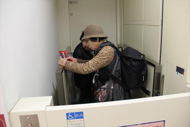 写真:昇降機はご自身で使える簡単さ