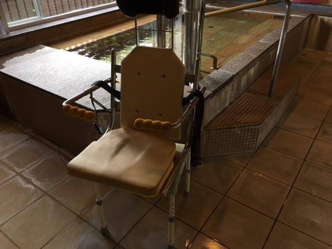 写真:入力用の自動椅子