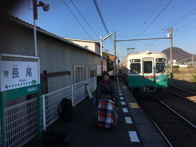 写真:電車の乗降