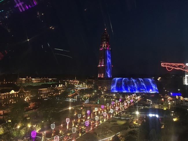 写真:ハウステンボスの夜景