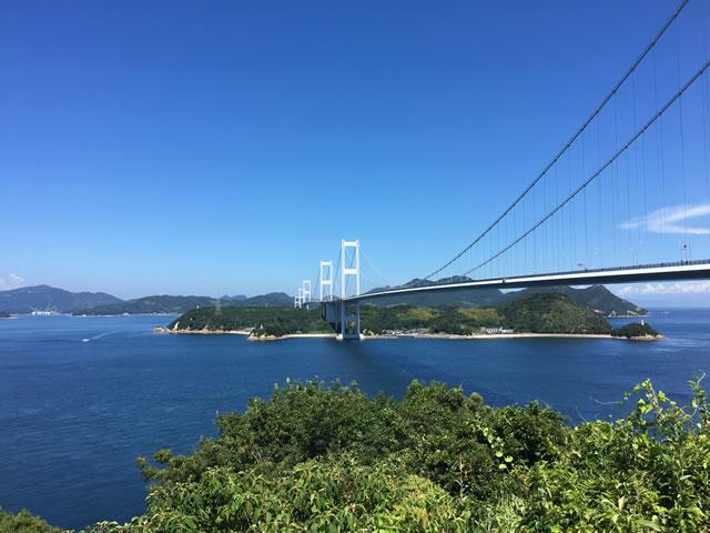 写真:来島海峡展望台