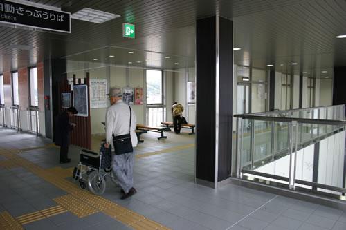 写真:本竜野駅に到着