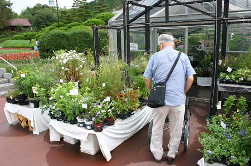 写真:広島市植物公園に到着