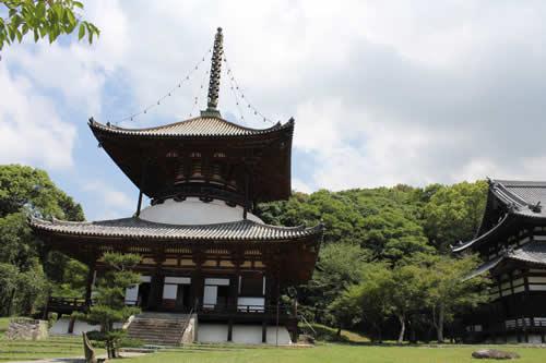 写真:根来寺の外観